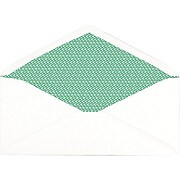 """Staples Sustainable Earth Gummed Security Tint 100% Recycled #10 Envelopes, 4-1/8"""" x 9-1/2"""", 500/Pack (19963)"""
