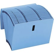 Smead Recycled WaterShed/CutLess Expanding File, 31-Pocket, Letter, Blue, 1/Ea (SMD70743)
