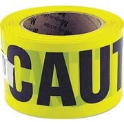 "Great Neck® Caution Safety Tape, Non-Adhesive, 3"" x 1000 ft"