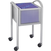 Safco® Impromptu™ File Cart with Open Top, Gray