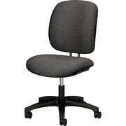 "HON ComfortTask® 5900 Series Armless Task Chair, Gray, Fabric Seat, 38 1/4""H x 23""W x 28 3/4""D NEXT2017"