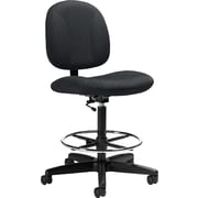 Staples® Drafting Chair, Black
