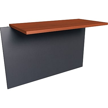 Bestar - Pont de la collection Prestige +, fini Bordeaux et graphite