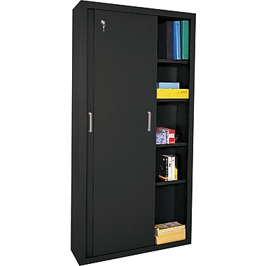 Sandusky Sliding Door Storage Cabinets, 72