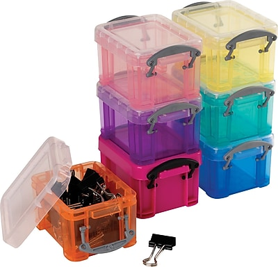 Really Useful Box® 0.14 Liter, Assorted Colors