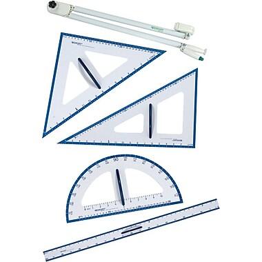 Westcott - Ensemble de géométrie pour tableau