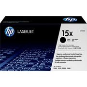 HP 15X (C7115X) Black High Yield Original LaserJet Toner Cartridge