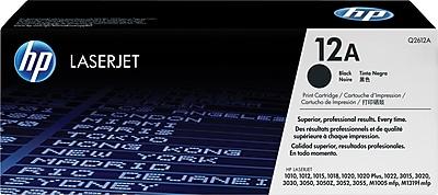 HP 12A Black Toner Cartridge (Q2612A)