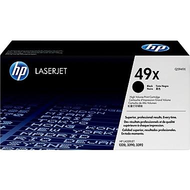 HP 49X (Q5949X) Cartouche de toner HP LaserJet noir à rendement élevé d'origine