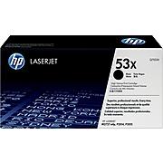 HP 53X Black High Yield Toner Cartridge (Q7553X)