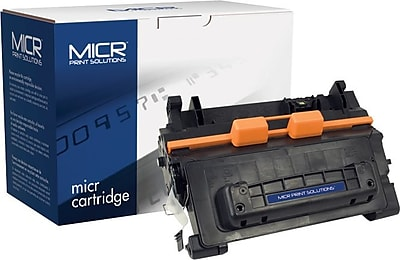 MICR Black Toner Cartridge Compatible with HP 64X (CC364X), High Yield