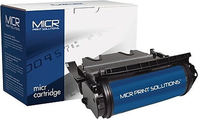 MICR Toner Cartridge Compatible with Lexmark 12A7460/12A7362/12A7462, High Yield
