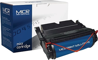 MICR Toner Cartridge Compatible with Lexmark 12A6830/12A6735/12A6835/12A6839, Extra High Yield,