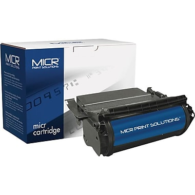 MICR Toner Cartridge Compatible with Lexmark 1382920, 1382625, 1382925