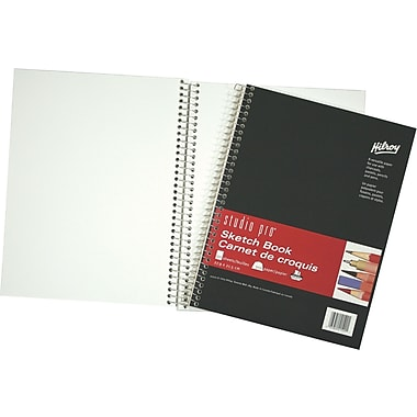 "Hilroy Studio Pro Sketch Book, 8-1/2"" x 11"", 100 Sheets"