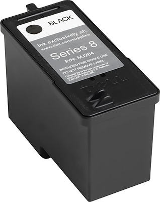 Dell Ink Cartridge, Series 8 (MJ264), High Yield, Black
