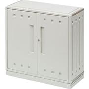 "Iceberg SnapEase Storage Cabinet, Platinum, 35"""