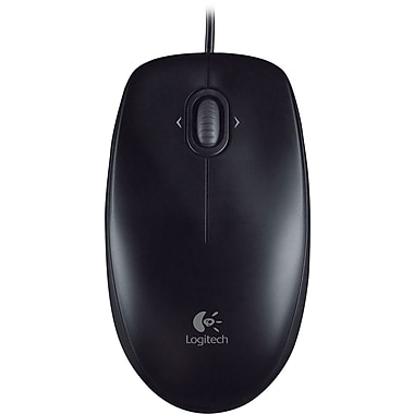 Logitech M100 Mouse, Black