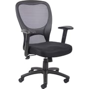 Boss® Mesh Manager's Chair, Black