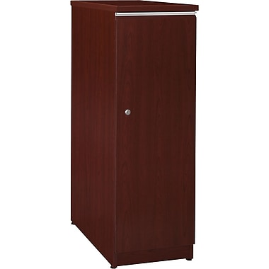 Bush Business Milano2 Short Storage Locker; Harvest Cherry, Installed