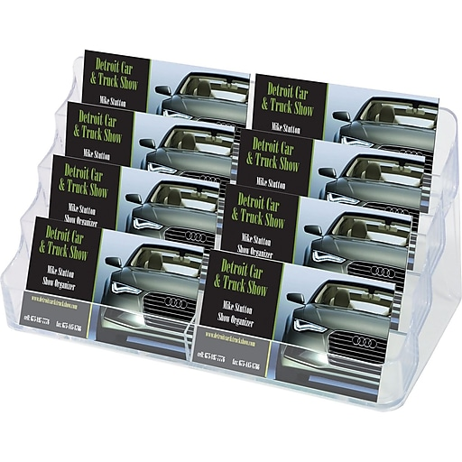 Deflect o acrylic literature holders 4 tier 8 pocket business httpsstaples 3ps7is colourmoves