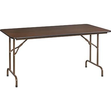 Staples 5' Melamine Folding Banquet Table