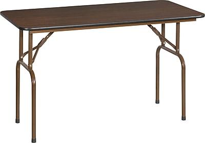 Global 4' Folding Banquet Melamine Table, Each (T1-2448)