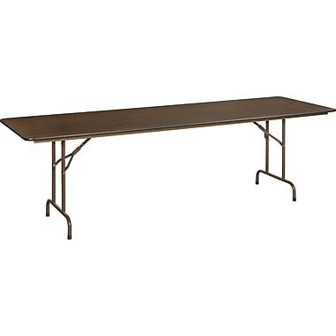 Staples 8' Melamine Folding Banquet Table