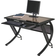 Office Star HZN25 Computer Desk, Black