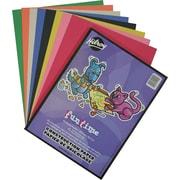 Hilroy - Papier de bricolage, 9 po x 12 po, couleurs variées, paq./96 feuilles