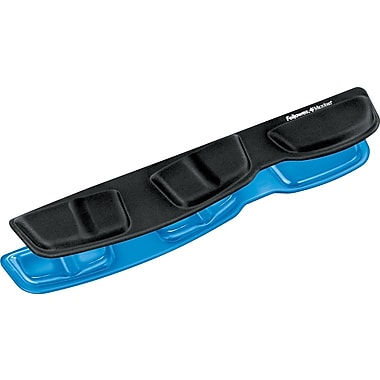Fellows Microban Blue Keyboard Palm Support Protection 9183101