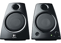 Logitech Z130 Multimedia Speakers with Stereo Sound for Multiple Devices, Black (980-000417)