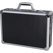 "Nextech 17"" ABS Attache Briefcase, Black"