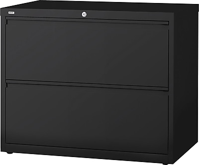 staples 2 drawer commercial lateral file cabinet black 30 inch rh staples com interion® 30 lateral file cabinet 2 drawer charcoal alera 30 lateral file cabinet