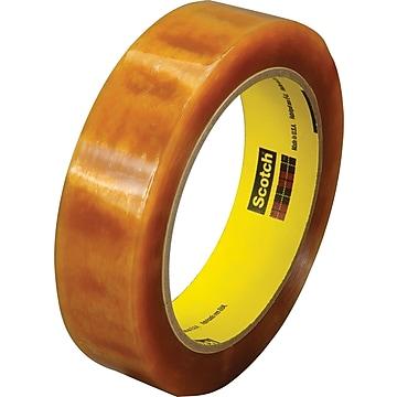 "Scotch® Light Duty Packaging Tape, Heat Resistant, 1"" x 72 yds., 1/Roll (610)"