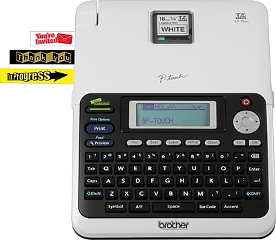 Brother PT-2030 Simply Stylish Professional Deluxe Office Label Maker