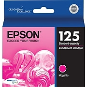 Epson T125 Magenta Standard Yield Ink Cartridge