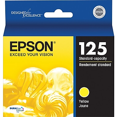 Epson 125 (T125420) Yellow Ink Cartridge