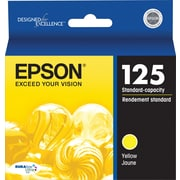 Epson 125 Yellow Ink Cartridge (T125420)