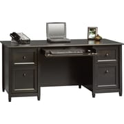 Sauder® Edgewater Collection Executive Desk, Estate Black
