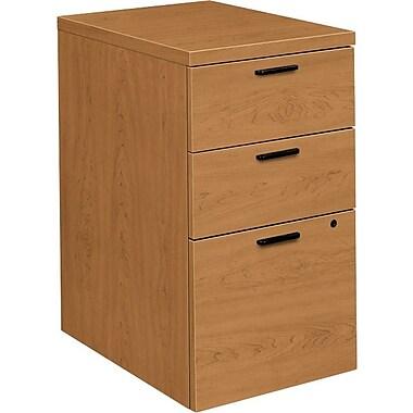 HON® 10500 Series 3-Drawer Mobile Pedestal File, Harvest