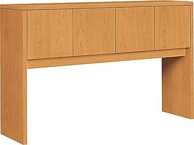 HON® 10500 Series 4-Door Stack-On Hutch, Harvest, 37 1/8
