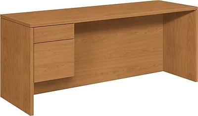 HON 10500 Series Left Credenza for Office Desk or Computer Desk, 72