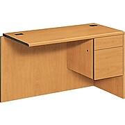 """HON® 10700 Series Office Collection in Harvest, """"L"""" Workstation Right Return, Order Left Desk"""
