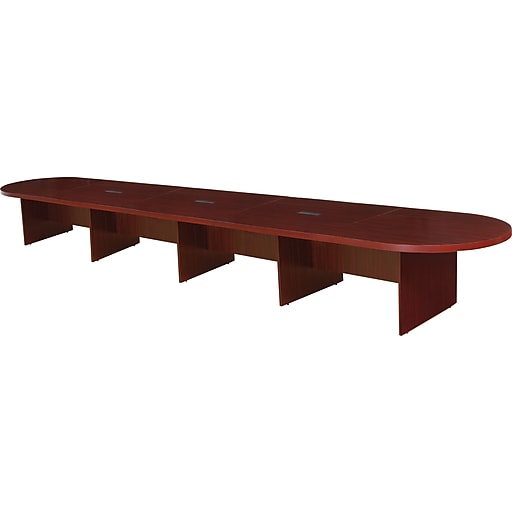 Regency Legacy Oval Conference Table Mahogany Staples - Regency conference table