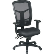 Office Star™ Mesh Executive Office Chair, Black, Fixed Arm (92892-30)