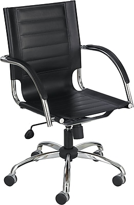 Safco 3456BL Manager's Chair, Black