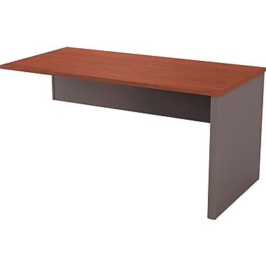 Bestar Connexion Collection Return Table, Bordeaux & Slate