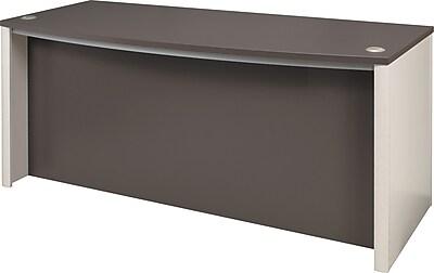 Bestar Connexion Collection 72 Executive Desk Sandstone Slate