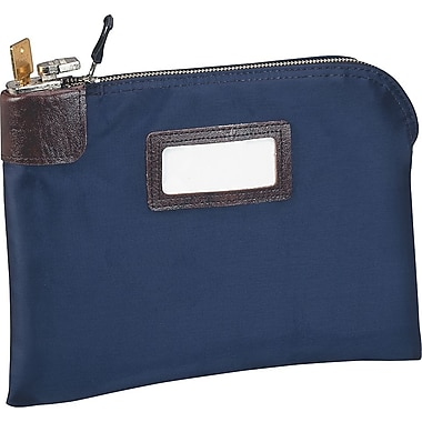 MMF® 7-Pin Lock Night Deposit Bag, Navy